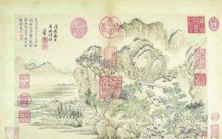 清宫旧藏乾隆御题王翚山水册将上拍 估价千万港币