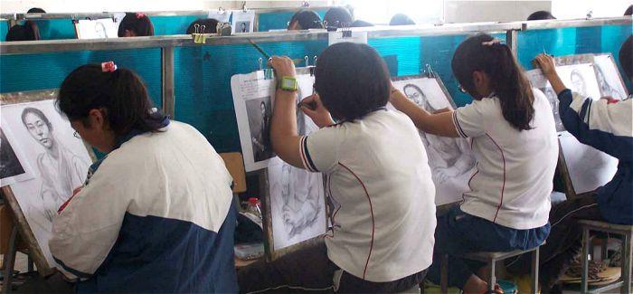 北京春节备战最严艺考:买画材是唯一外出机会