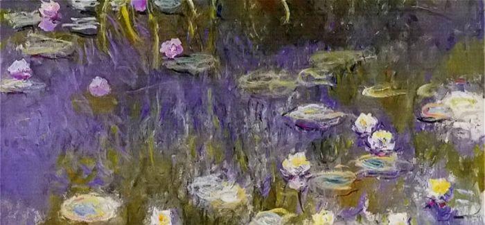 莫奈完整名作《睡莲》将首次在英展出 长12.8米