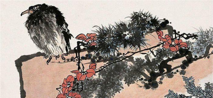 2015十件最贵艺术品:潘天寿《鹰石山花图》居首