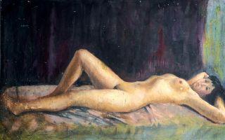 早期油画十大名家价值榜 徐悲鸿吴冠中在列吴冠中