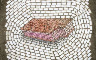 芝加哥艺术家Jim Bachor的街头涂鸦:雪糕马赛克