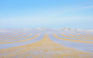 冬天的蒙古虽寒冷 但永远属于期待难以置信风景的人