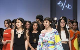 清华美院&米兰新美术学院2015服装设计毕业生作品在京发布