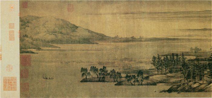 董源《夏山图》:画史中最古老的夏之风景