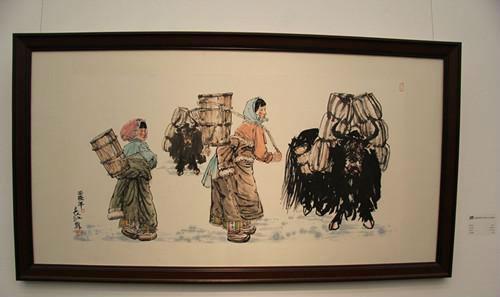唐朝名家仙鹤画
