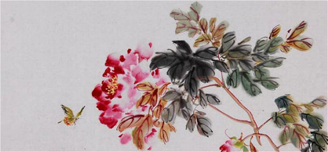 书画收藏与鉴赏:《花蝶图》图片