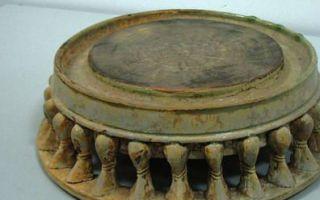 西安碑林收藏的青瓷辟雍砚