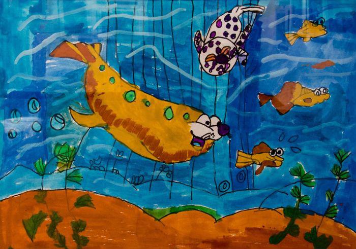 """""""星星的孩子""""也有艺术梦:自闭症儿童画展在沪举行 六一儿童节到来之际,以""""艺视界·一世界""""为主题的,关爱自闭症儿童的公益画展,今天在明圆当代美术馆正式开幕。 据悉,展览共收录了37幅美术作品,其中包括上海爱好儿童康复培训中心与上海市长宁区特殊教育指导中心自闭症儿童的25幅画作,以及高高原创艺术品直购平台推荐的12幅当代青年艺术家的创作。"""