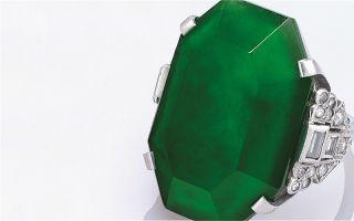 孔祥熙家族珍藏珠宝及翡翠首饰成交额1.126亿港元
