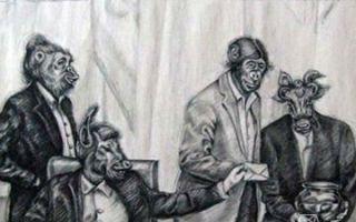 伊朗艺术家Atena Farghadani因在画作中讥讽议会而被宣判入狱