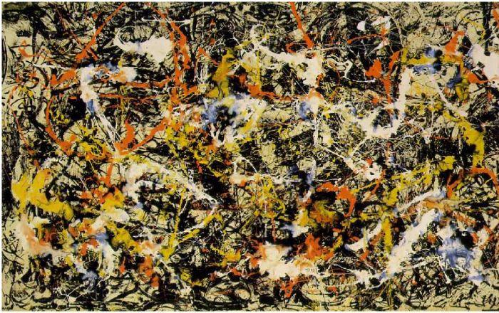 现代主义的梦魇:jackson pollock与抽象派图片