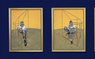 """伦敦苏富比:三件弗朗西斯·培根画作""""一台戏"""""""