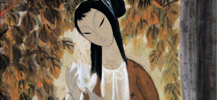 看一代画家林风眠的仕女魂图 每一幅都那么曼妙多姿