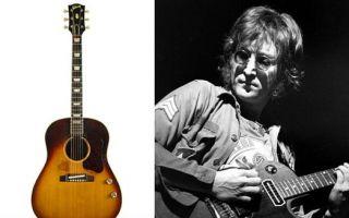 约翰·列侬吉他失而复得 有望打破吉他拍卖纪录