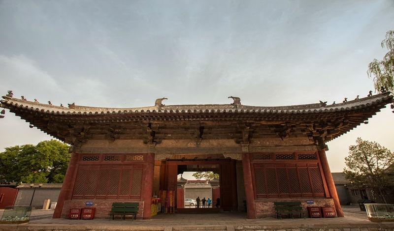 是中国传统木结构建筑形制流