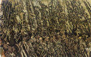许江作品大赏:在画布上种一万亩葵花