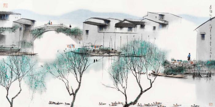 """""""昨日和今天"""":艺术家杨明义姑苏水墨特展于苏州开幕"""