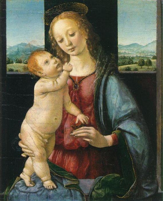 拈花圣母 意大利 达芬奇