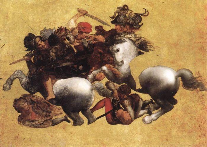 安吉里之战 达芬奇