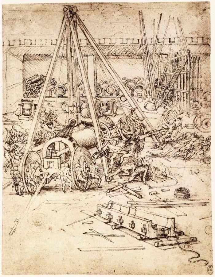 大炮铸造厂 达芬奇