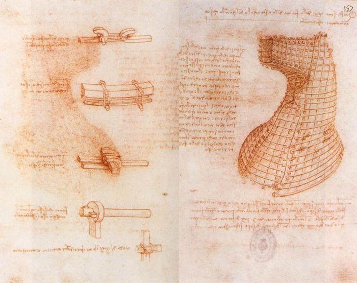 设计手稿 达芬奇
