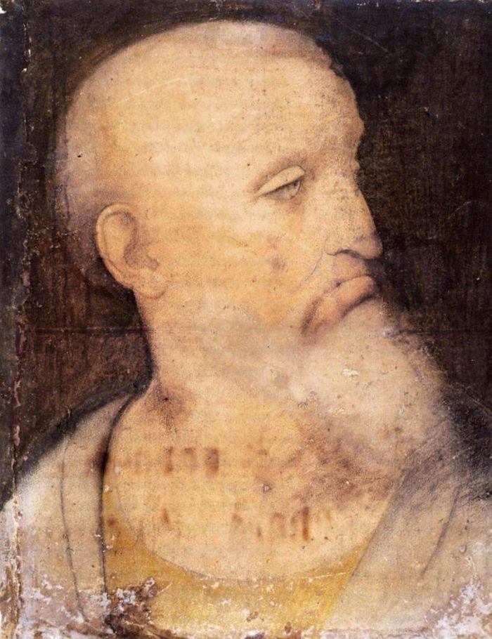 圣·安德鲁头像 达芬奇