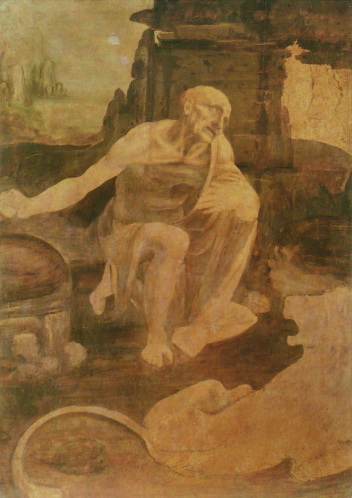 圣·杰罗姆 达芬奇