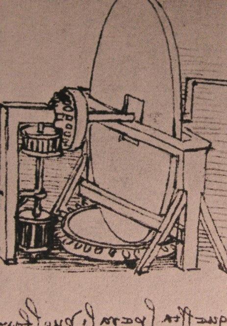 凸透镜研磨机器设计图 达芬奇