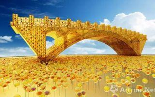 """当代艺术家舒勇图腾景观雕塑""""丝路金桥""""将亮相米兰世博会"""