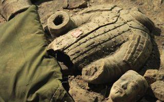 兵马俑2号坑或出土蓝脸俑:专家猜测为外国兵 面世几率小