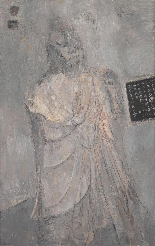 李建平石窟印象·二十一190cm×120cm2015年