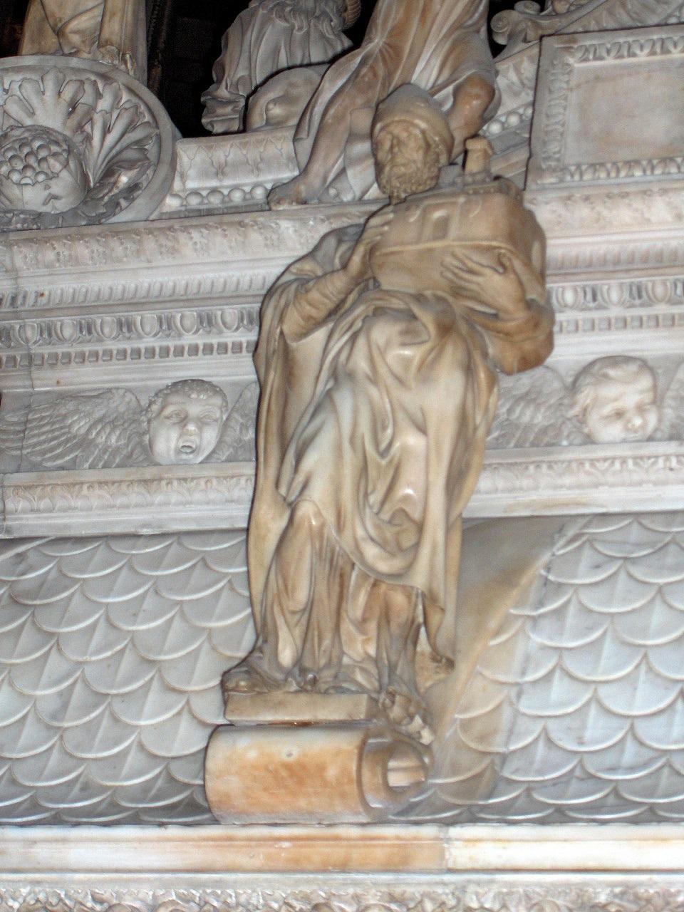 圣多明尼克像 意大利 米开朗基罗 雕塑