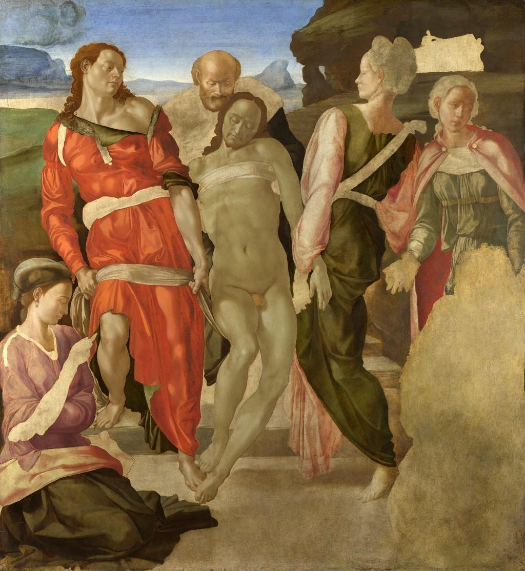 埋葬 意大利 米开朗基罗 壁画 英国国家美术馆