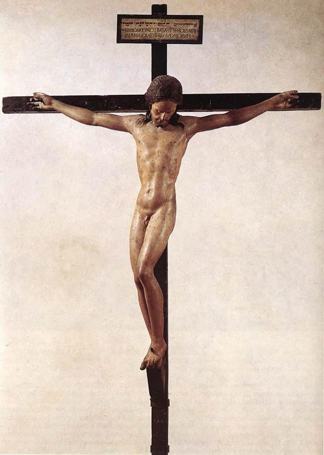 基督耶稣受难 米开朗基罗