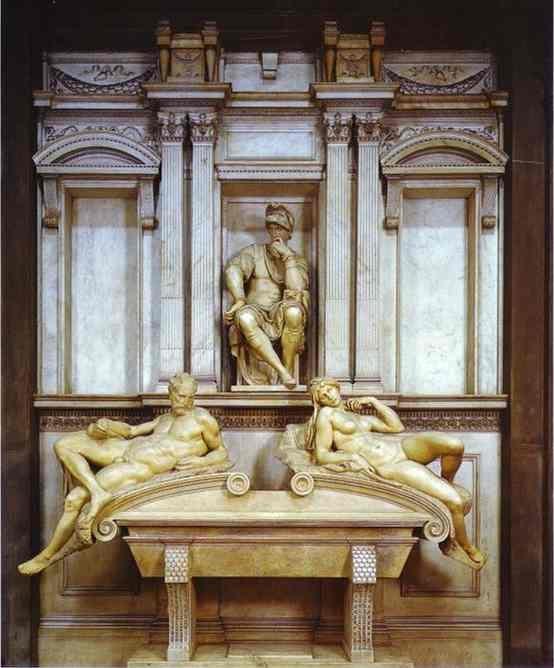 洛伦佐·德·美第奇之墓 米开朗基罗
