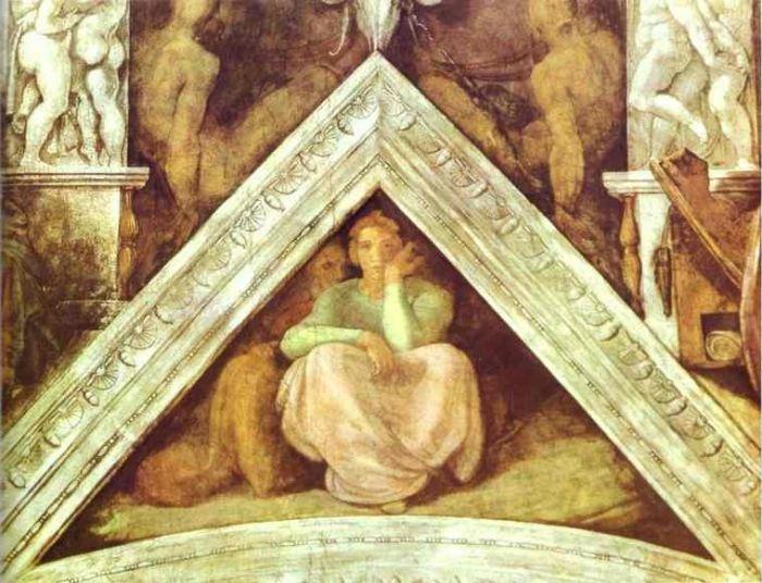 耶稣基督的家谱:杰西 米开朗基罗