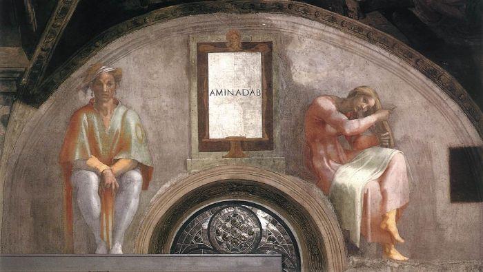 耶稣基督的家谱:亚米拿达 米开朗基罗