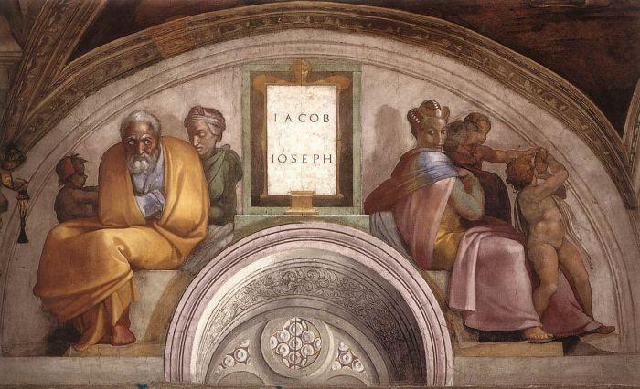 耶稣基督的家谱:雅各伯,约瑟夫 米开朗基罗