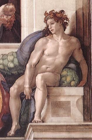 伊纽多(裸体巨人) 米开朗基罗3