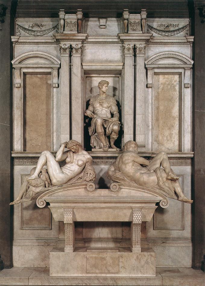 朱利亚诺·德·美第奇之墓 米开朗基罗