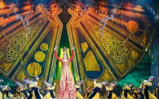 """中央民族歌舞团大型歌舞诗""""永恒的刀郎"""""""