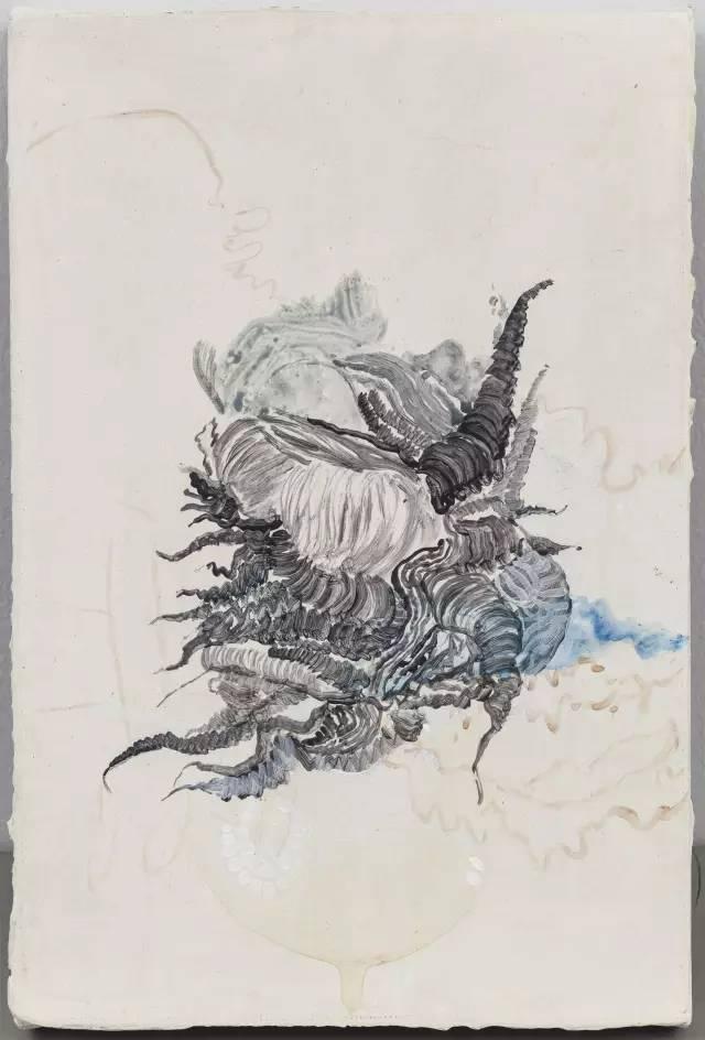 麒麟手绘画作品