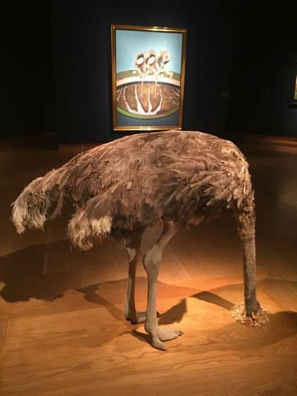 佳士得的鸵鸟与苏富比的美钞 --伦敦当代拍卖场