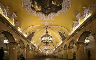 莫斯科地铁:激荡人心的建筑交响史诗