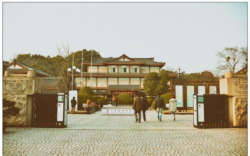 16:52 浙江博物馆 浙江省博物馆位于杭州西湖孤山南麓,风光如画,景致