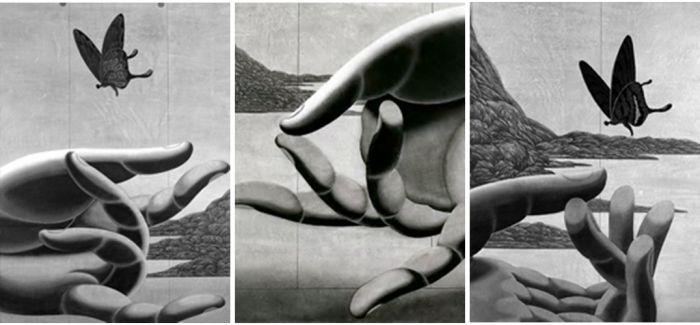 中国当代版画:陈琦水印木刻版画