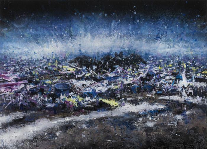 美丽新世界 8号   A Beautiful New World No.8      布面油画       130x180cm     Oil on Canvas 2014
