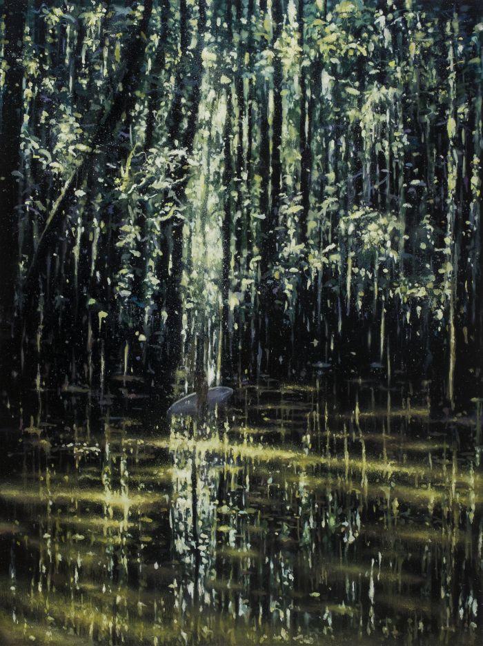 美丽新世界 9号   A Beautiful New World No.9            布面油画        Oil onCanvas 200×150cm  2014