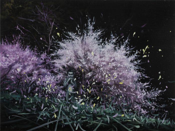 美丽新世界 4号   A Beautiful New World No.4           布面油画          Oil on Canvas   90x120cm    2014